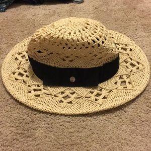 Calia straw hat.